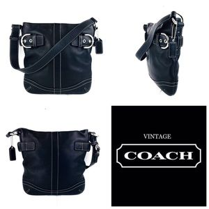 45a3754690ee ... sale coach bags coach black leather soho slim duffle shoulder bag c36a9  95612